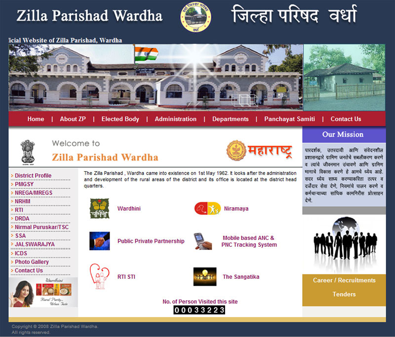 Zilla Parishad Wardha - Micro Orange